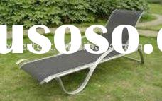 Popular and modern style outdoor furniture garden sunbed folding chair Lounger PF-SD-010
