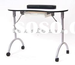Manicure table nail desk manicure table nail desk for Portable manicure table nail technician workstation