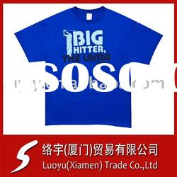 Printing T-shirts 100% Preshrunk Cotton Plain for Printing