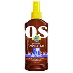 Protective Tanning Oil Sunscreen Spray SPF 8 8 fl oz (236 ml)