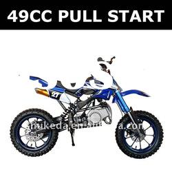 Pull start engine gas pocket bikes,motor cross bike 49cc, kick start moto