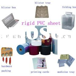Rigid Clear PVC Sheet Roll for blister packaging