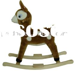 Rocking deer,Plush Rocking Horse,rocking horses,plush rocker,rocking animal
