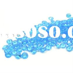 Sky Blue Acrylic Diamond Table Confetti/ Wedding Decorations