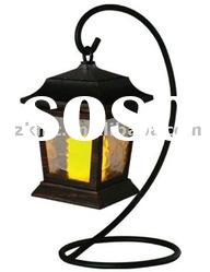 Solar Candle Decorative Light KT130PC(ripple glass, with S stand)