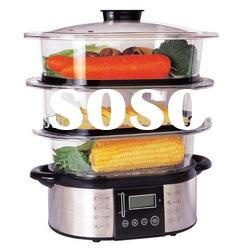 Stainless steel electric food steamer (XJ-5K118)