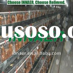 Supply high quality chicken cage used poultry housing for Nigeria