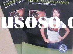 T-Shirt Inkjet/Laser printing Heat Transfer Paper For Light/Dark Color