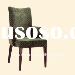 Upholstered metal Dining Chairs With Arms HC8020