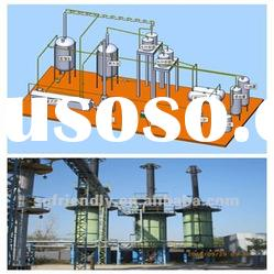 Used motor oil refining recycling machine on sale in 2012