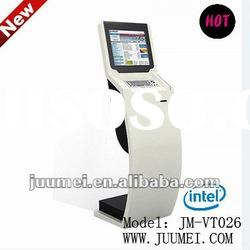 Vertical touch kiosks and touch screen and photo booth kiosk