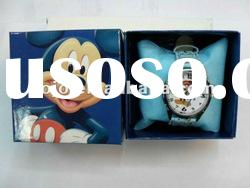 Vogue cartoon character cool kids wrist watches low MOQ mickey mouse watch