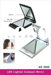 Wholesale cosmetic makeup mirror with led magnifying