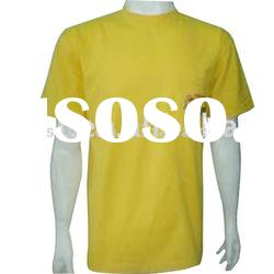 Wholesale customized plain t shirts for men