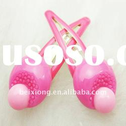 Wholesale hair accessories cheap handmade hairclip for kids