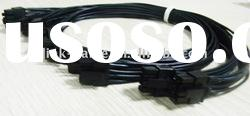 Wire harness connector terminal housing for electrical equipment