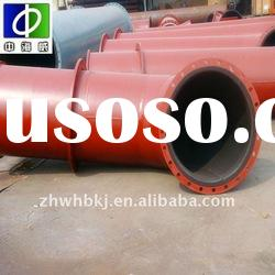 acid-resistant alkali-resistant flanged rubber line pipes