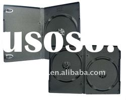 black color 14mm dvd case with single or double tray