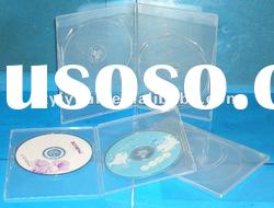 clear double dvd case 7mm