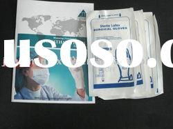 disposable surgical latex gloves(without powder)/sterilized surgical latex gloves