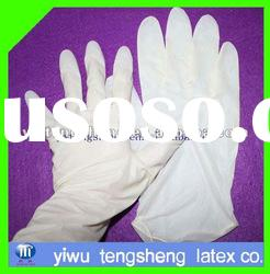 disposable synthetic latex examination gloves