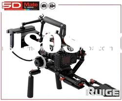 dslr rig with HD lcd monitor