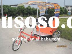 electric tricycle, electric pedicab, electric rickshaw for passenger