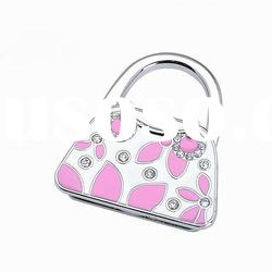 fashion cute bag shape punching bag hook hanger new year souvenir promotion wedding gift
