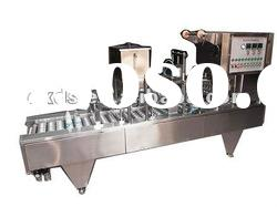 food processing machine of filling and sealing machine