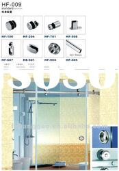 glass sliding door accessories for shower partition HF-009