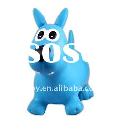 inflatable bouncy animal,jumping toy,ride on toy