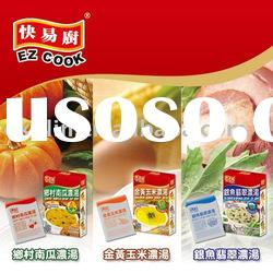 instant Soup Mix powder sachets in box