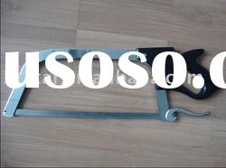 manual meat and bone saw with stainless steel blade