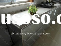 modern kitchen countertop polishing quartz stone top sale