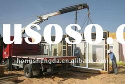 professionable design prefabricated house hotel with light steel structure