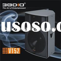 professional speaker/pro audio/audio equipment/sound box/loudspeaker