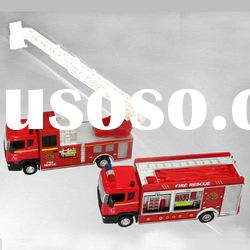 pull back toy diecast fire truck