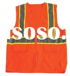 reflective safety vest,safety vest