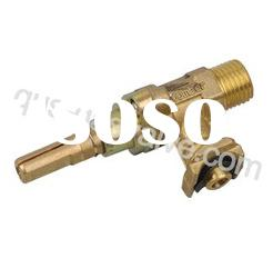 singe nozzle brass gas burner valve/gas burner parts
