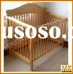 small baby crib pine wood pine furniture