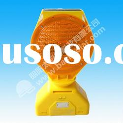 solar warning light, solar traffic light, LED traffic light