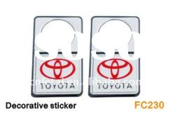 supply car decorative sticker car accessories