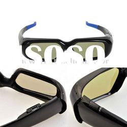 universal cheap 3d rf active shutter glasses 3d tv glasses for hisense sony samsung c series tv