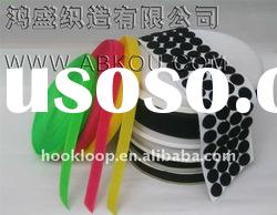 versatile and colorful adhesive circle tape,special hook and loop