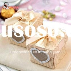 wedding gift card box with ribbon