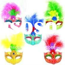 2011 fation colorful party mask for different party of different colors