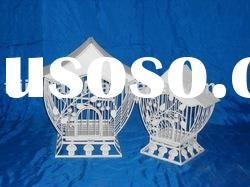2/S iron bird cages,decorative bird house,wire bird cages