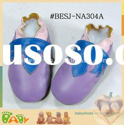Colorful NAPPA Leather Soft Sole Baby Shoes