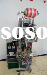 Cooking Oil Packing Machine with three/four side seal