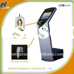 Custom self payment kiosk with embeded computer